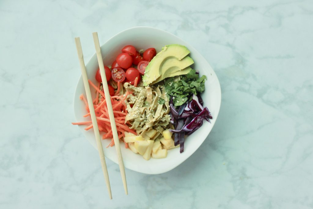 Recipe: Vegetarian Edamame Noodle Salad