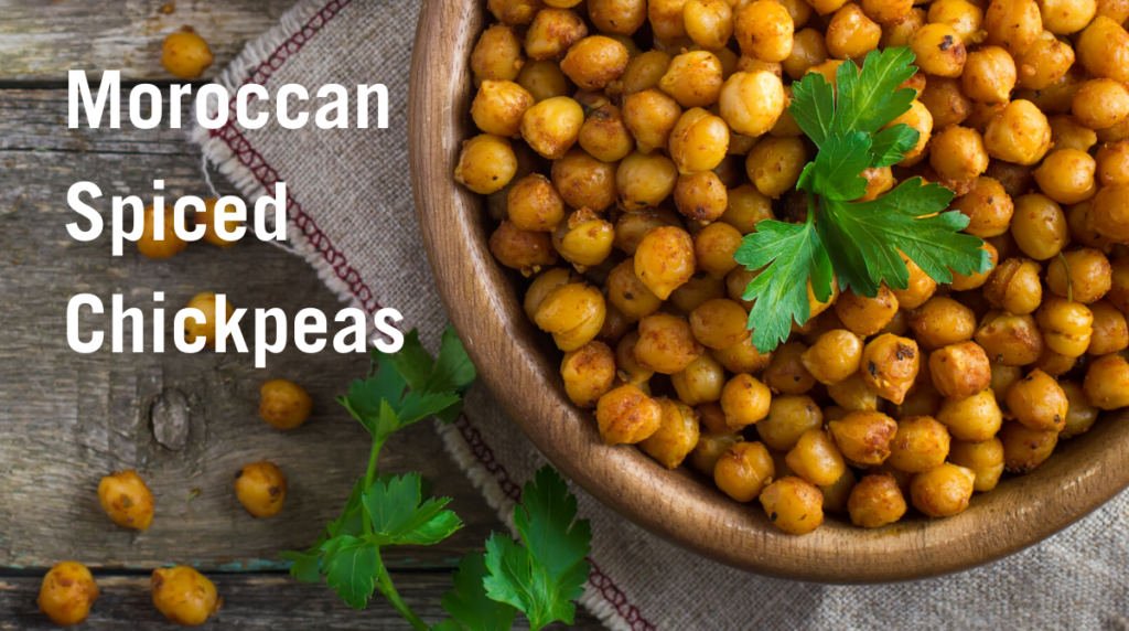 Recipe: Moroccan Spiced Chickpeas